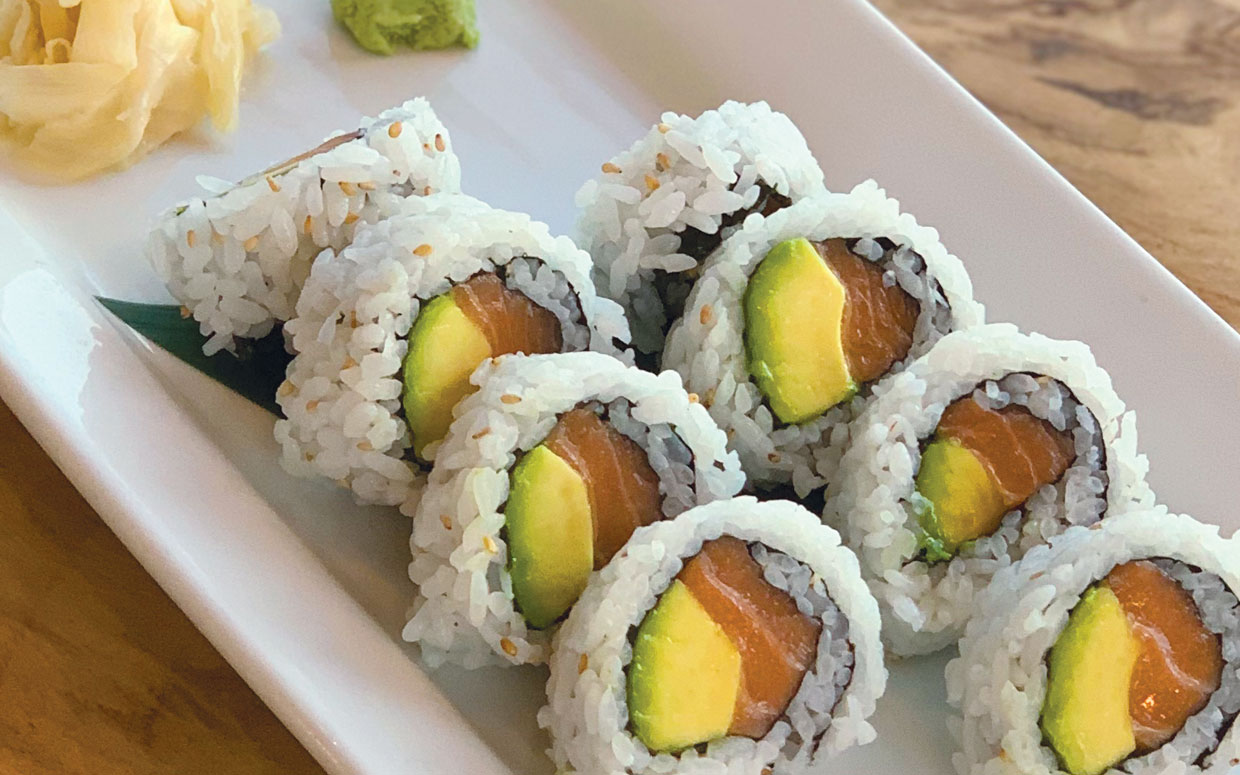 Sushi Roll Salmon avocado